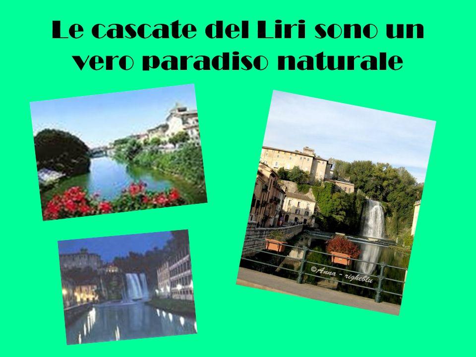 Le cascate del Liri sono un vero paradiso naturale