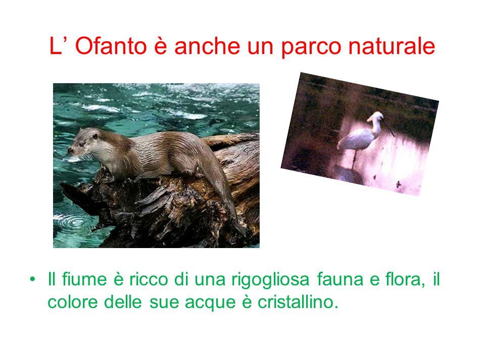 L' Ofanto è anche un parco naturale