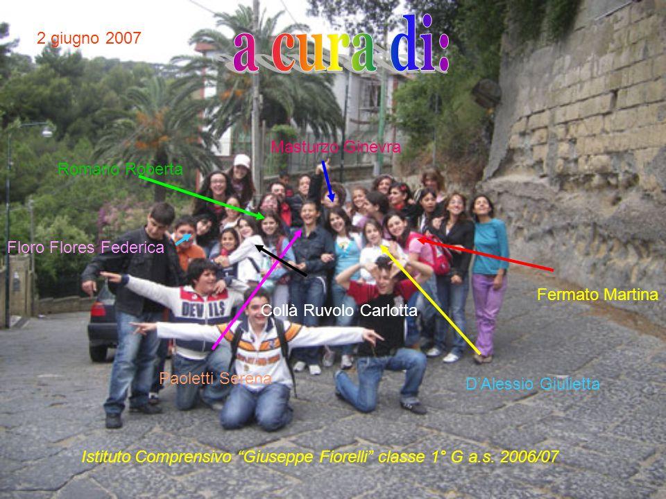 Istituto Comprensivo Giuseppe Fiorelli classe 1° G a.s. 2006/07