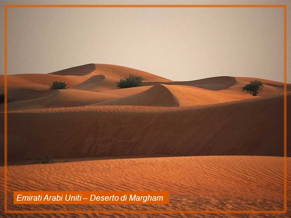 Emirati Arabi Uniti – Deserto di Margham