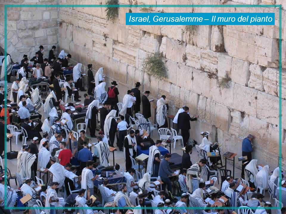 Israel, Gerusalemme – Il muro del pianto