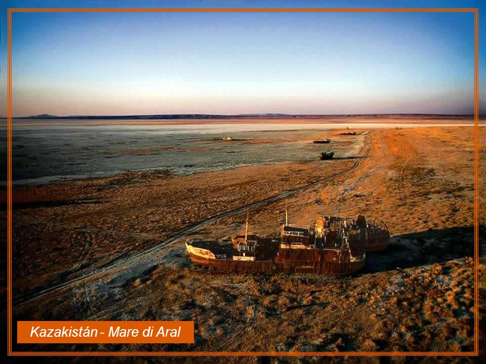 Kazakistán - Mare di Aral