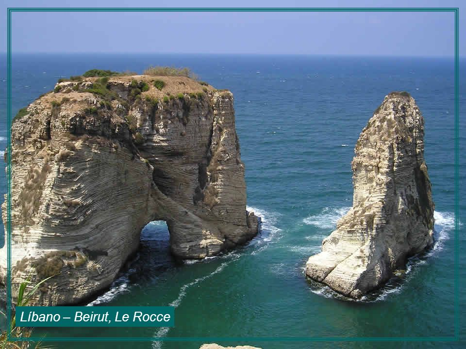 Líbano – Beirut, Le Rocce