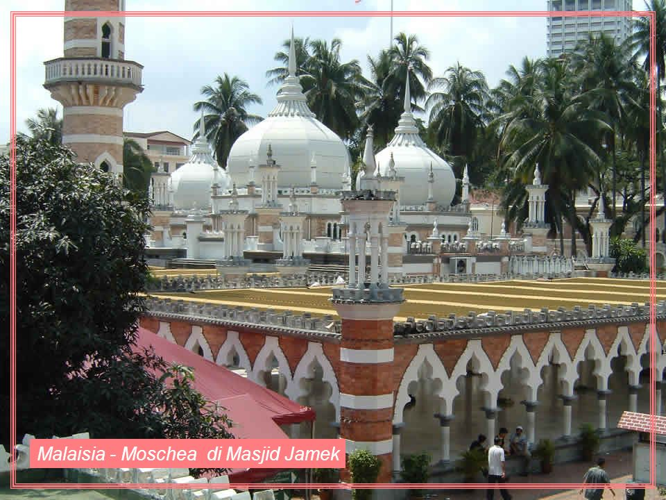 Malaisia - Moschea di Masjid Jamek