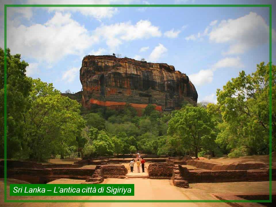 Sri Lanka – L'antica città di Sigiriya