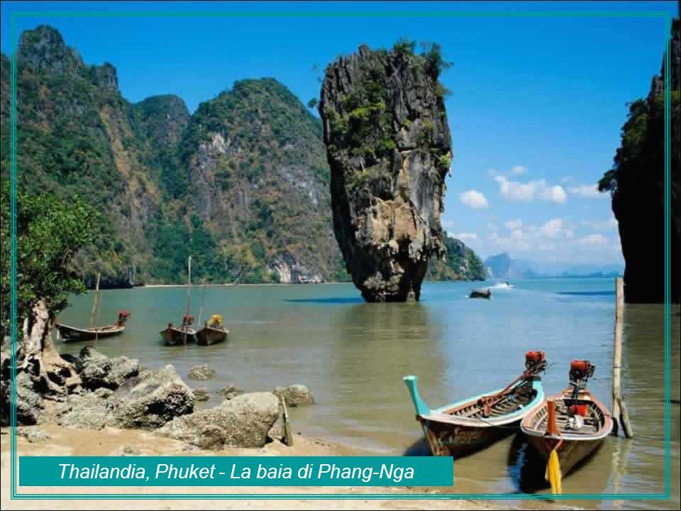 Thailandia, Phuket - La baia di Phang-Nga