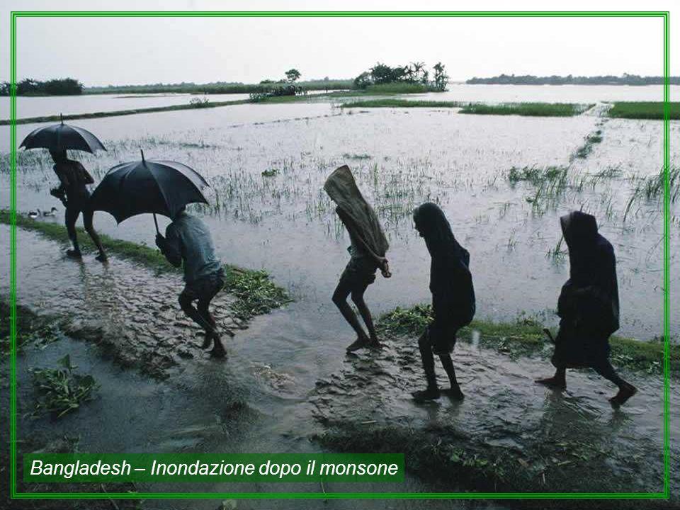 Bangladesh – Inondazione dopo il monsone