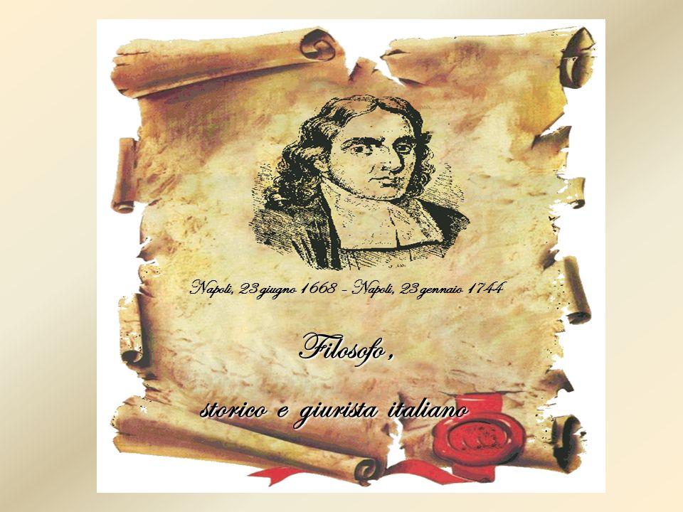 Filosofo , storico e giurista italiano