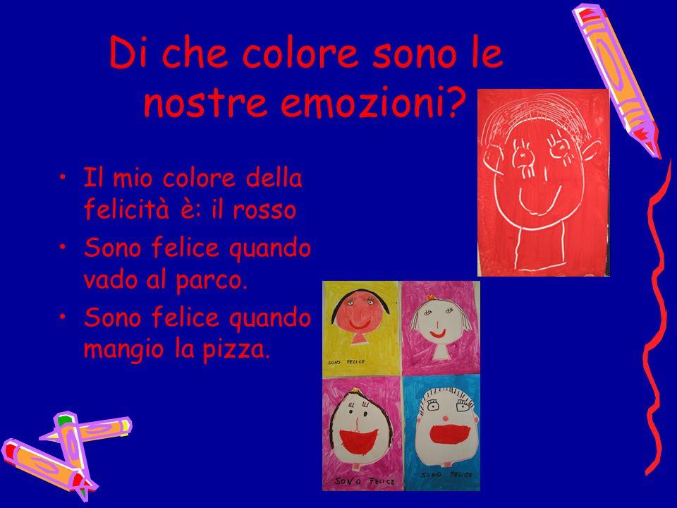Di che colore sono le nostre emozioni