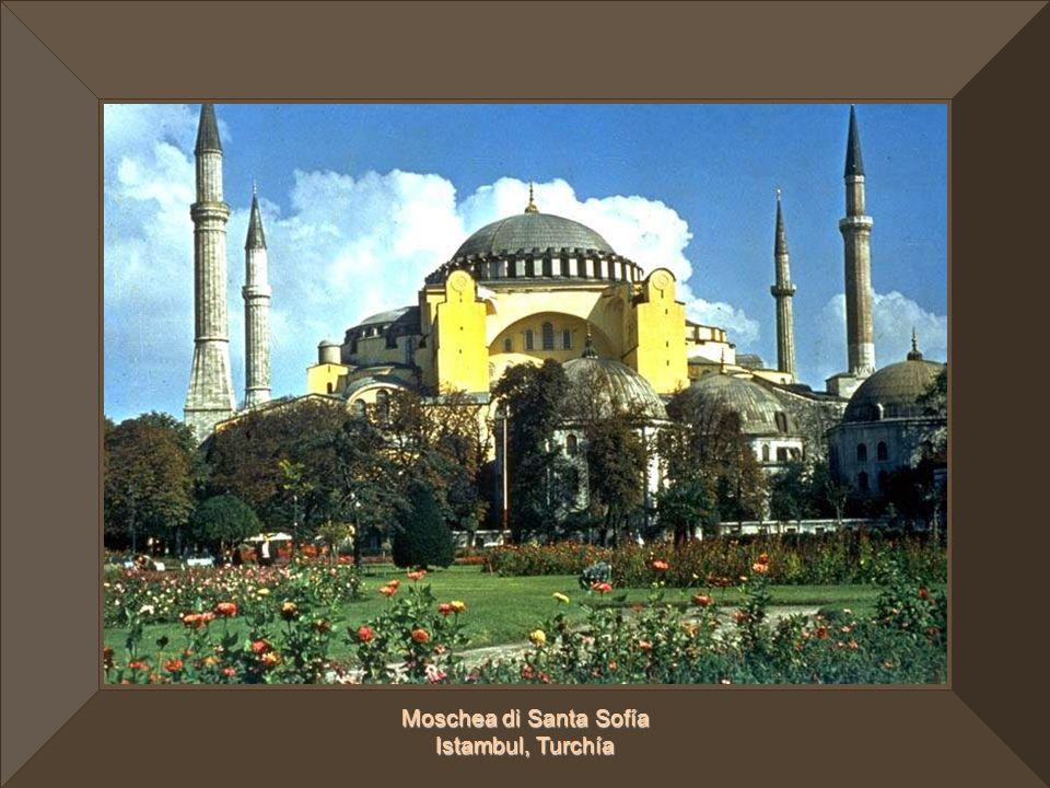 Moschea di Santa Sofía Istambul, Turchía