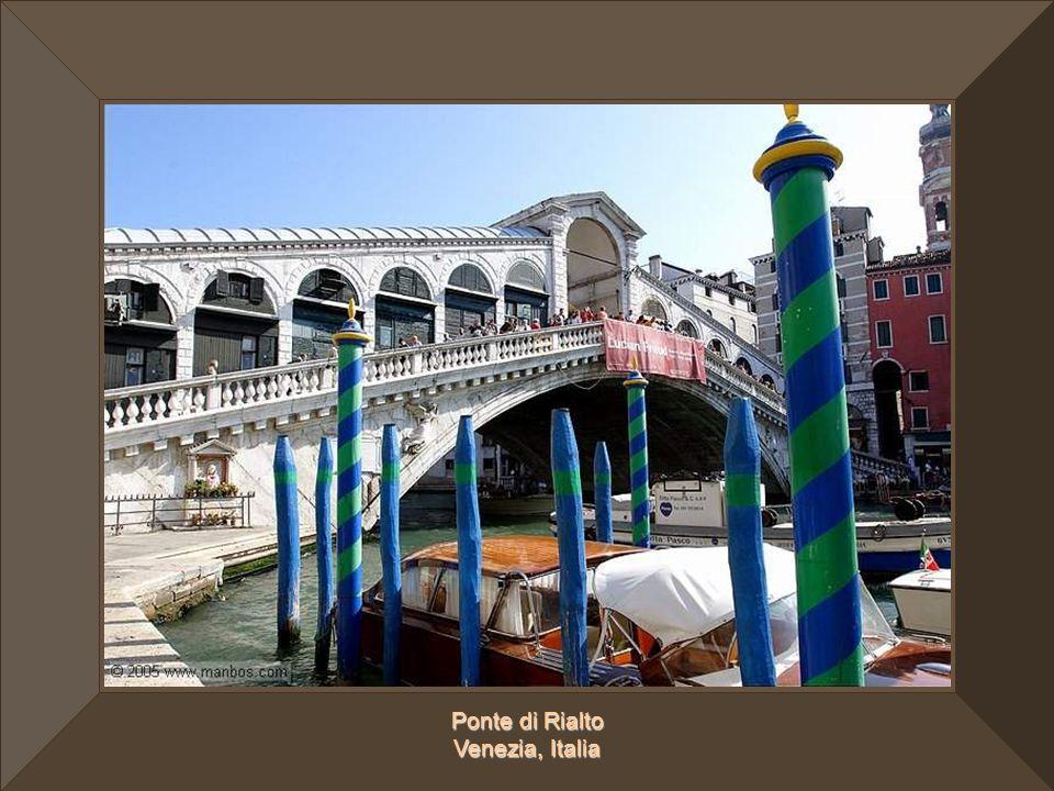 Ponte di Rialto Venezia, Italia
