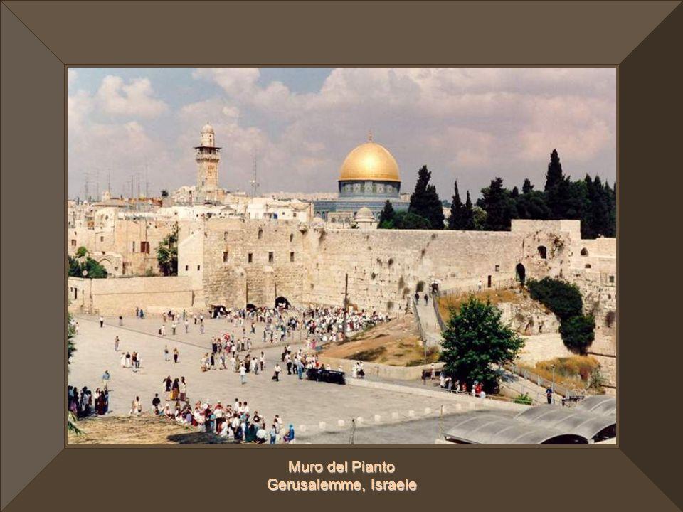 Muro del Pianto Gerusalemme, Israele