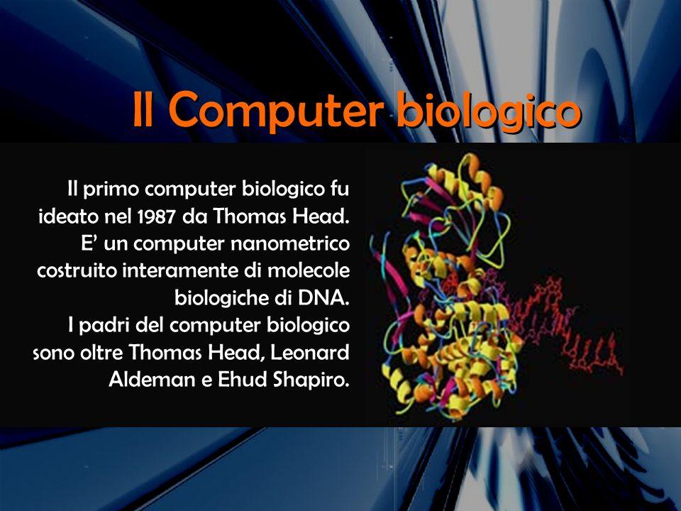 Il Computer biologico