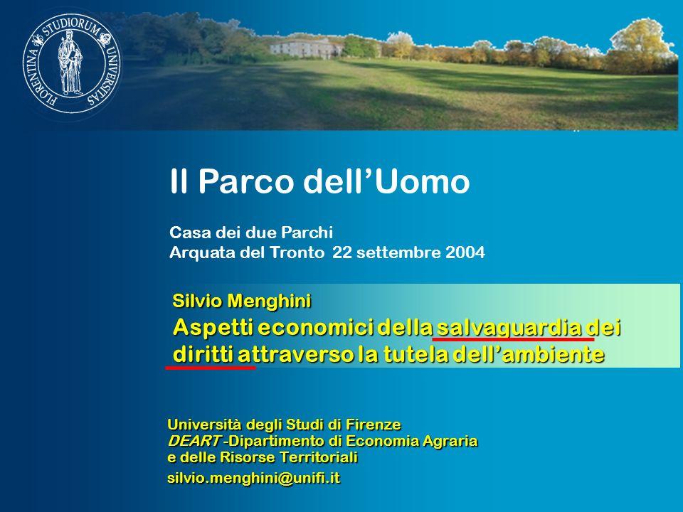 Il Parco dell'Uomo Casa dei due Parchi. Arquata del Tronto 22 settembre 2004.