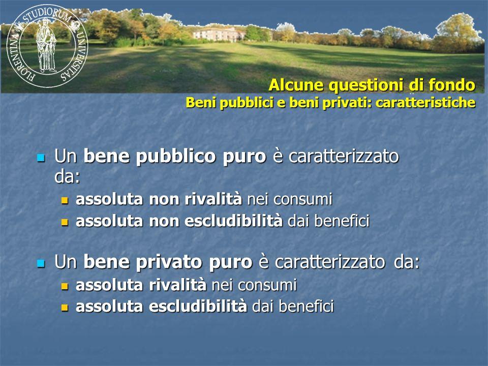 Un bene pubblico puro è caratterizzato da: