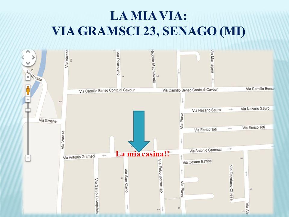 VIA GRAMSCI 23, SENAGO (MI)