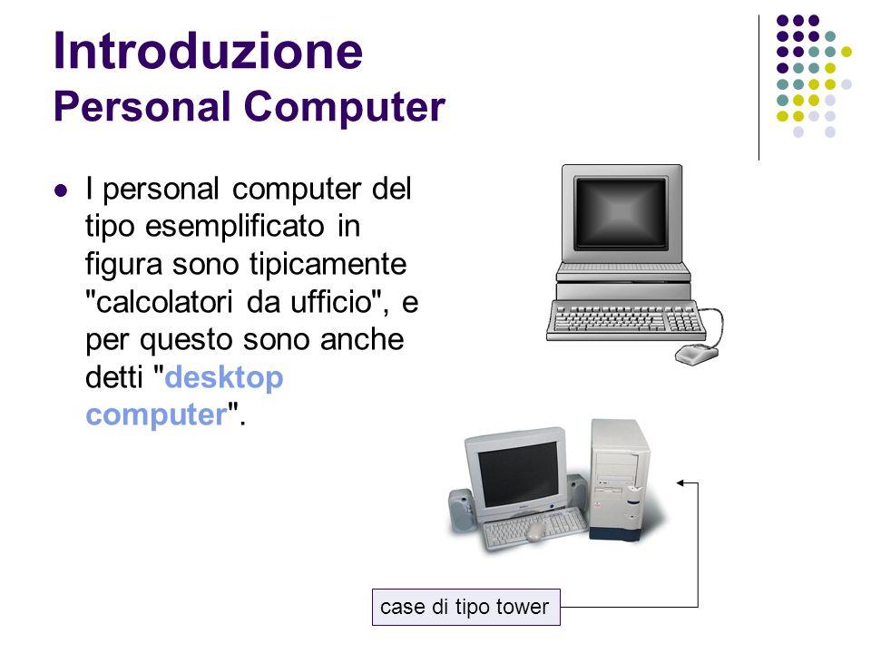 Introduzione Personal Computer