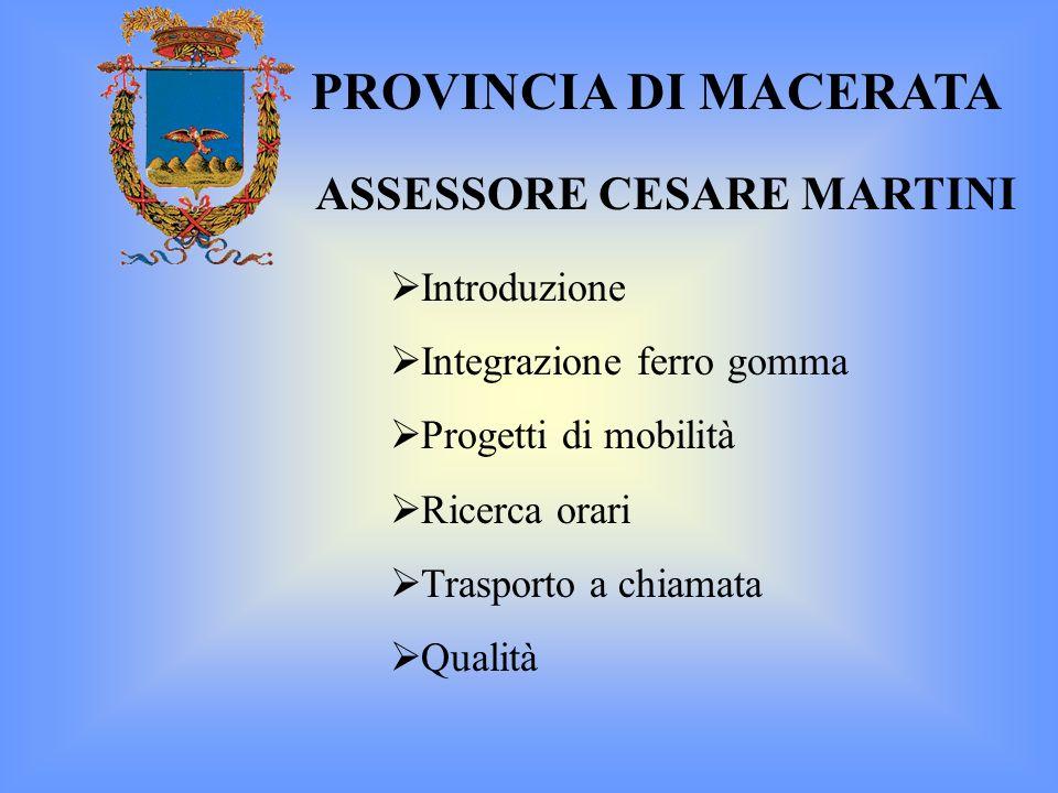 ASSESSORE CESARE MARTINI
