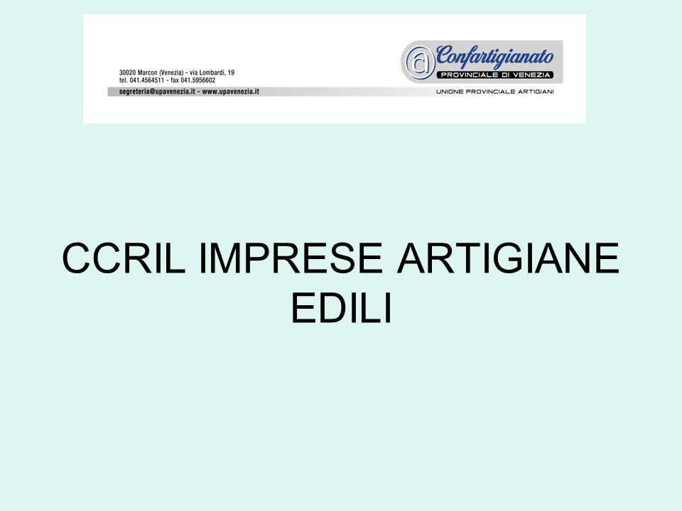 CCRIL IMPRESE ARTIGIANE EDILI