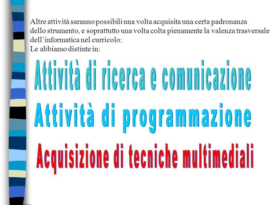 Attività di ricerca e comunicazione
