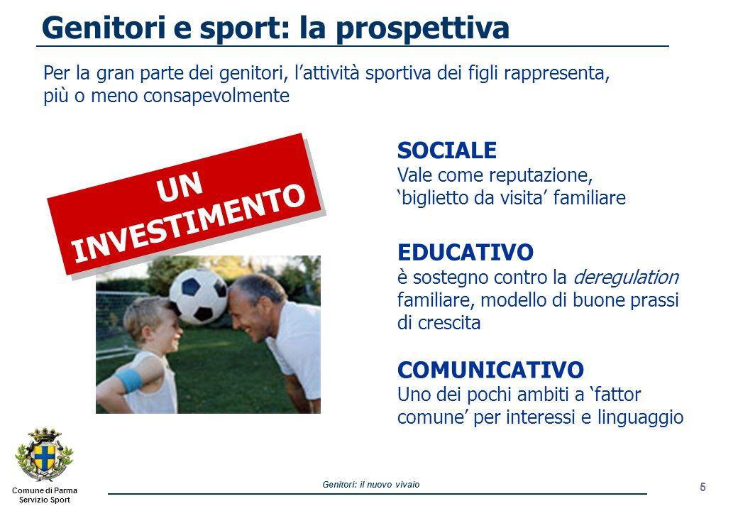Genitori e sport: la prospettiva
