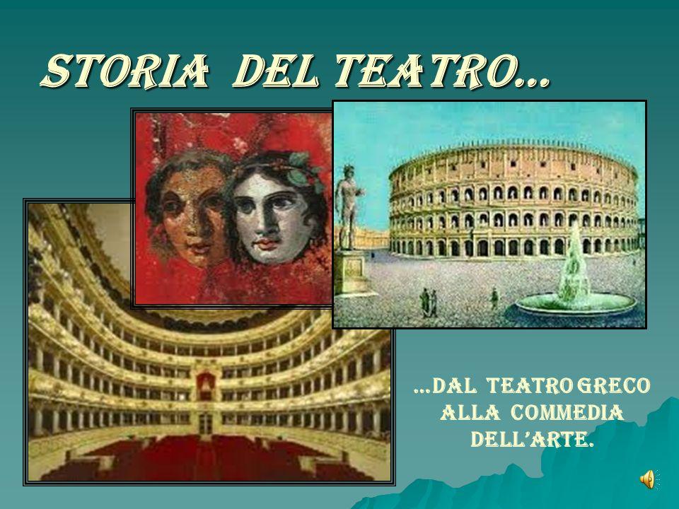 …Dal Teatro Greco alla Commedia dell'Arte.
