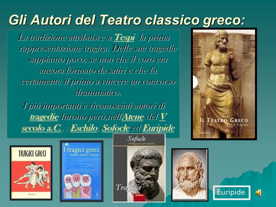 Gli Autori del Teatro classico greco: