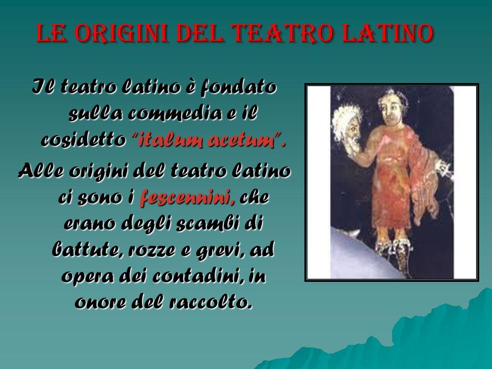 Le origini del teatro latino