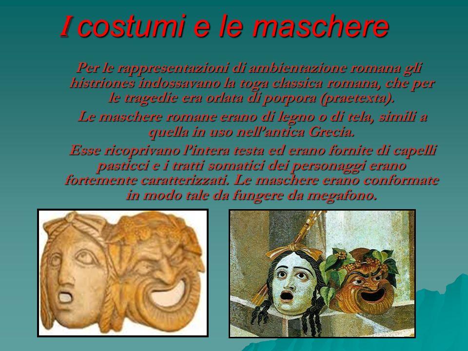 I costumi e le maschere