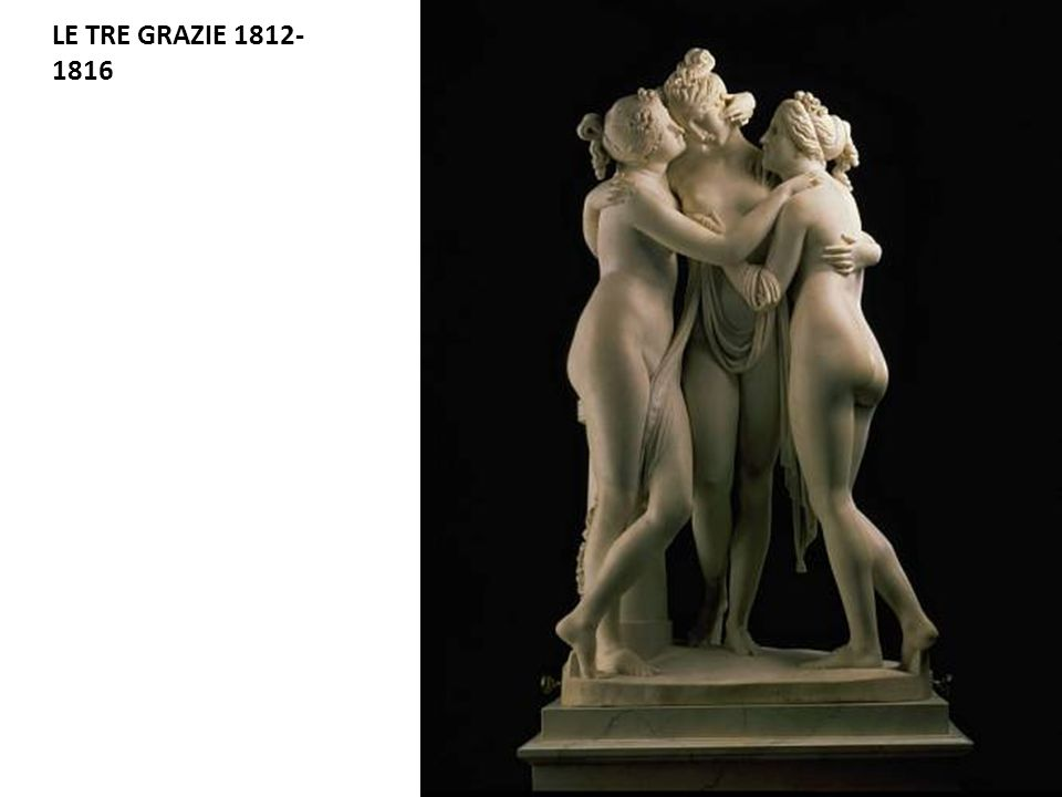LE TRE GRAZIE 1812-1816 