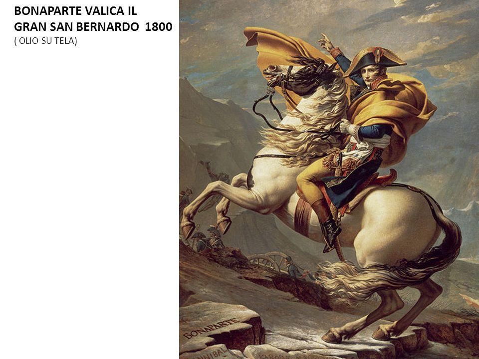 BONAPARTE VALICA IL GRAN SAN BERNARDO 1800 ( OLIO SU TELA) 8