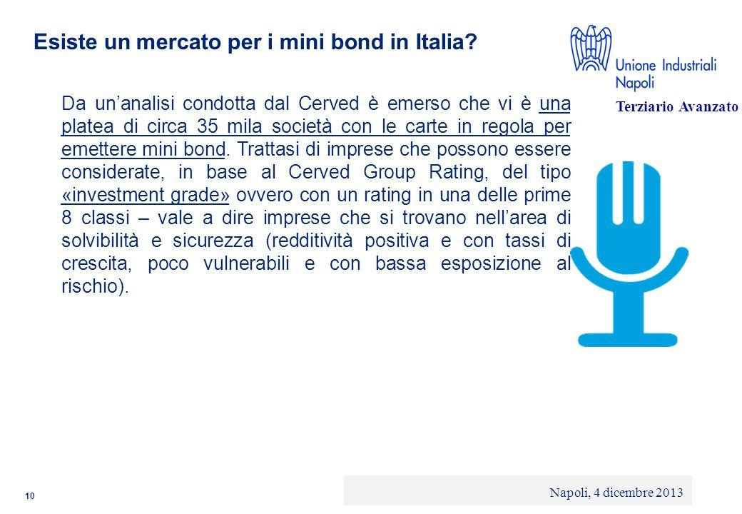 Esiste un mercato per i mini bond in Italia