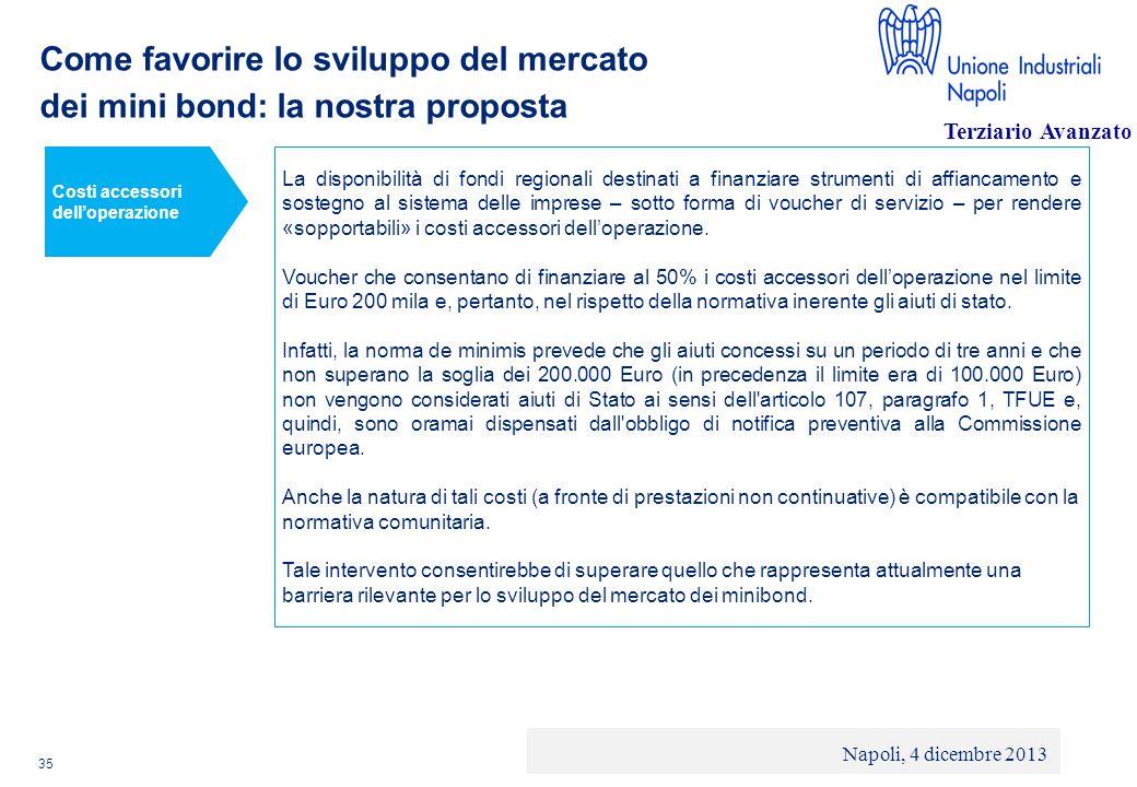 Come favorire lo sviluppo del mercato dei mini bond: la nostra proposta