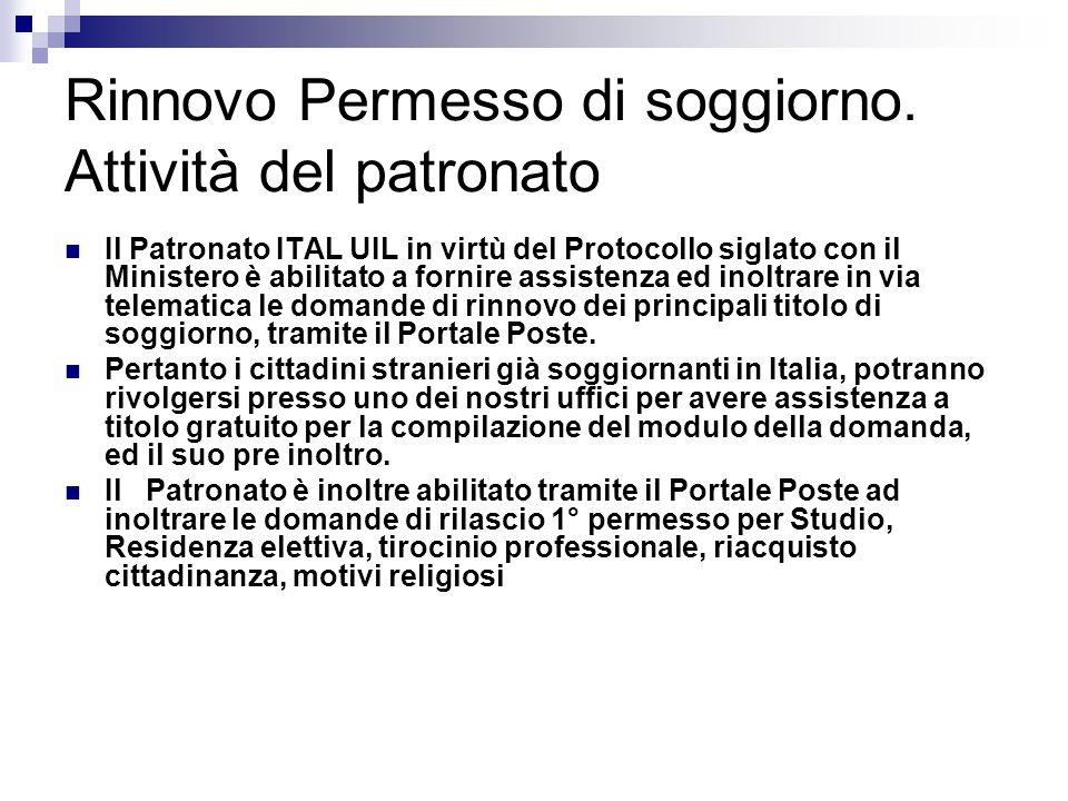 Corso immigrazione operatori ital ppt scaricare for Controlla permesso di soggiorno poste