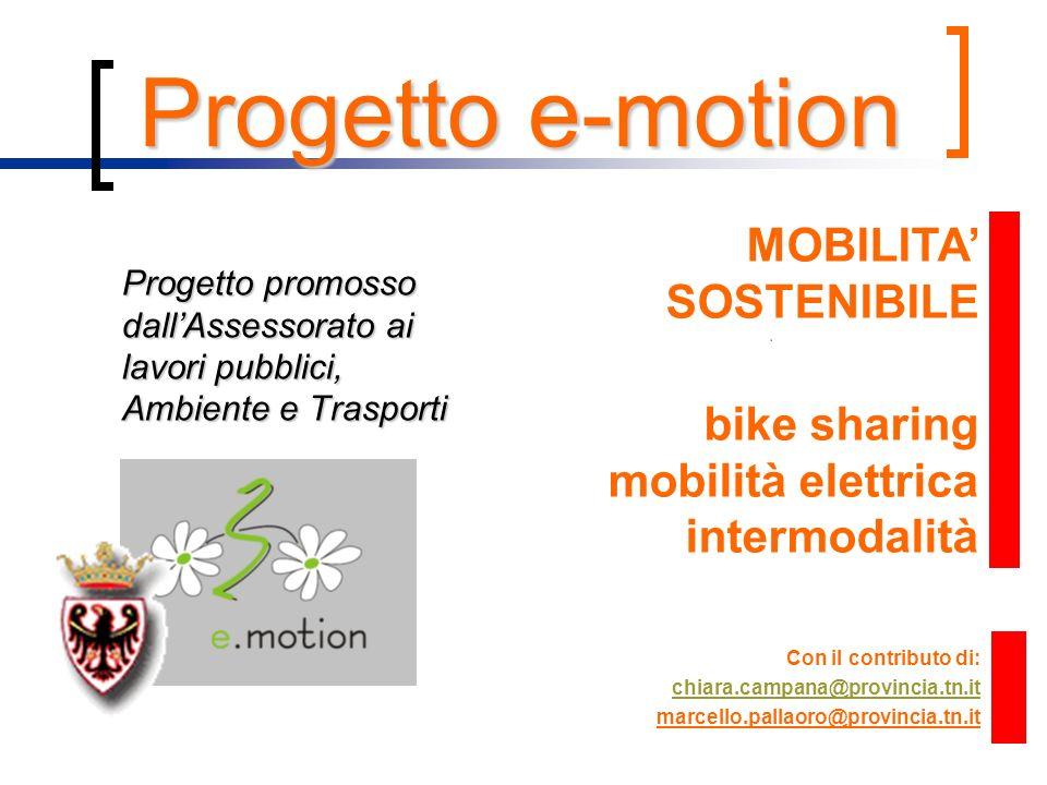 Progetto e-motion MOBILITA' SOSTENIBILE