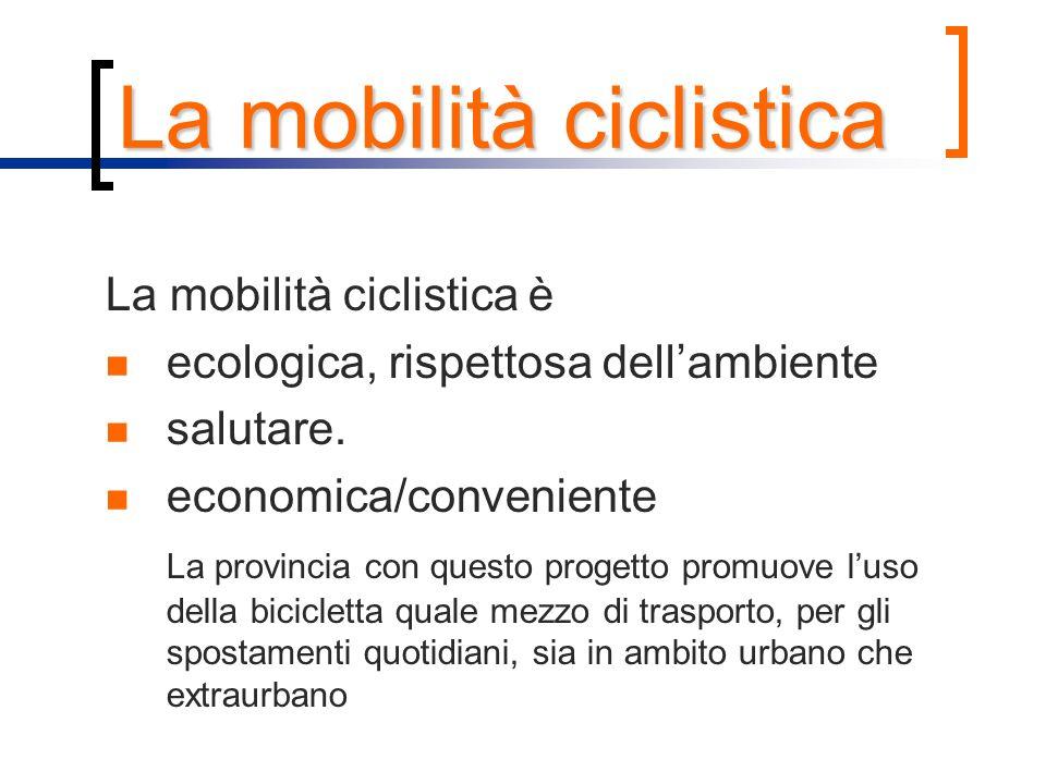 La mobilità ciclistica