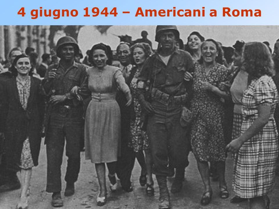 4 giugno 1944 – Americani a Roma