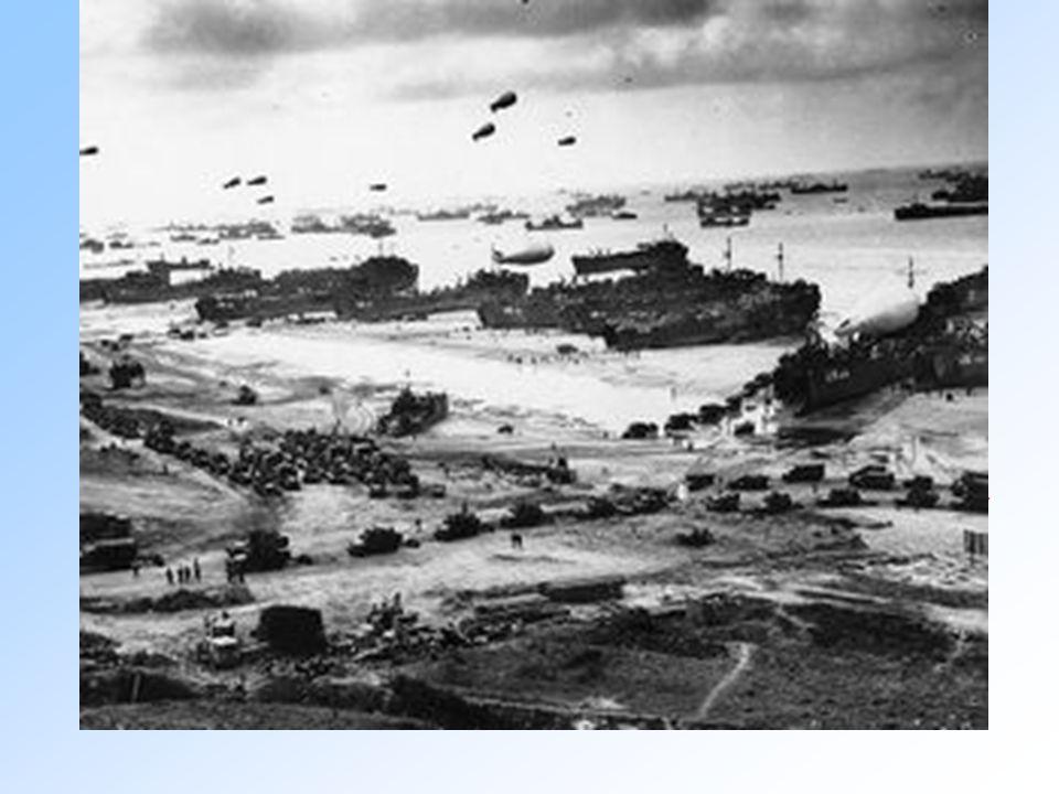 Lo sbarco in Normandia 6 giugno 1944 D-DAY