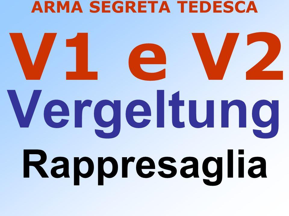 ARMA SEGRETA TEDESCA V1 e V2