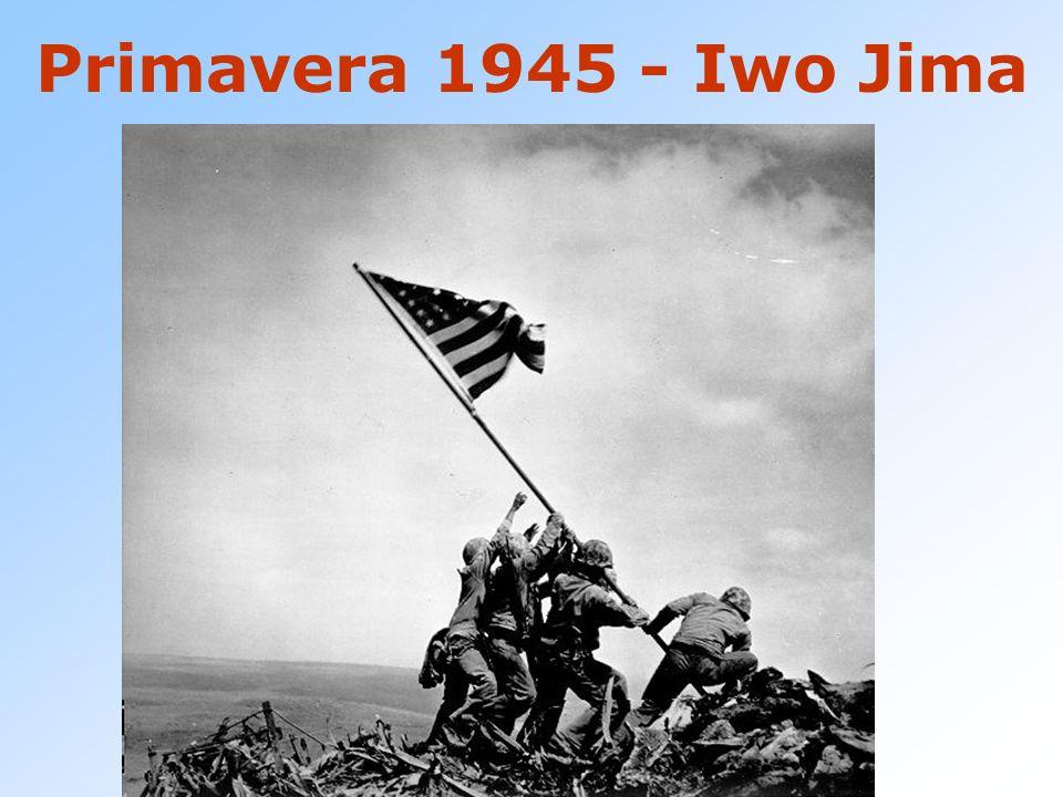 Primavera 1945 - Iwo Jima