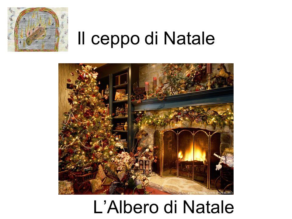 Il ceppo di Natale L'Albero di Natale
