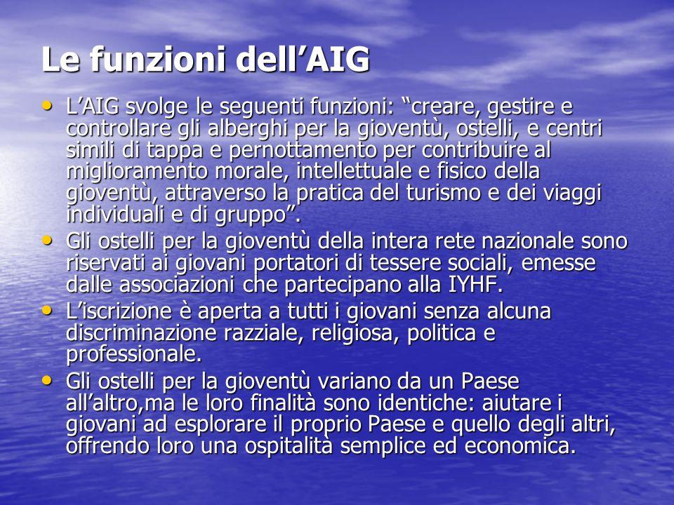 Le funzioni dell'AIG