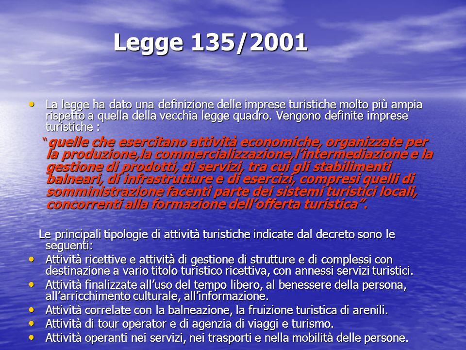 Legge 135/2001