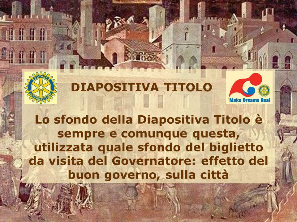 DIAPOSITIVA TITOLO