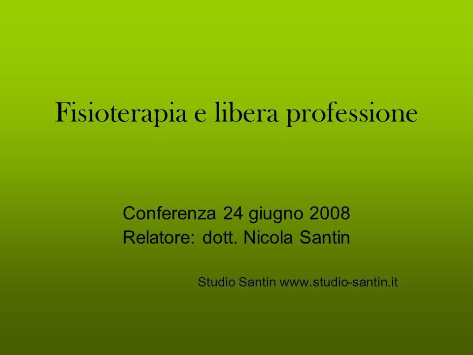 Fisioterapia e libera professione