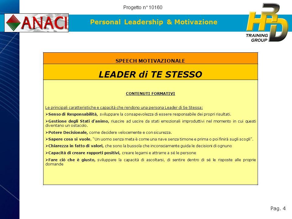 Personal Leadership & Motivazione