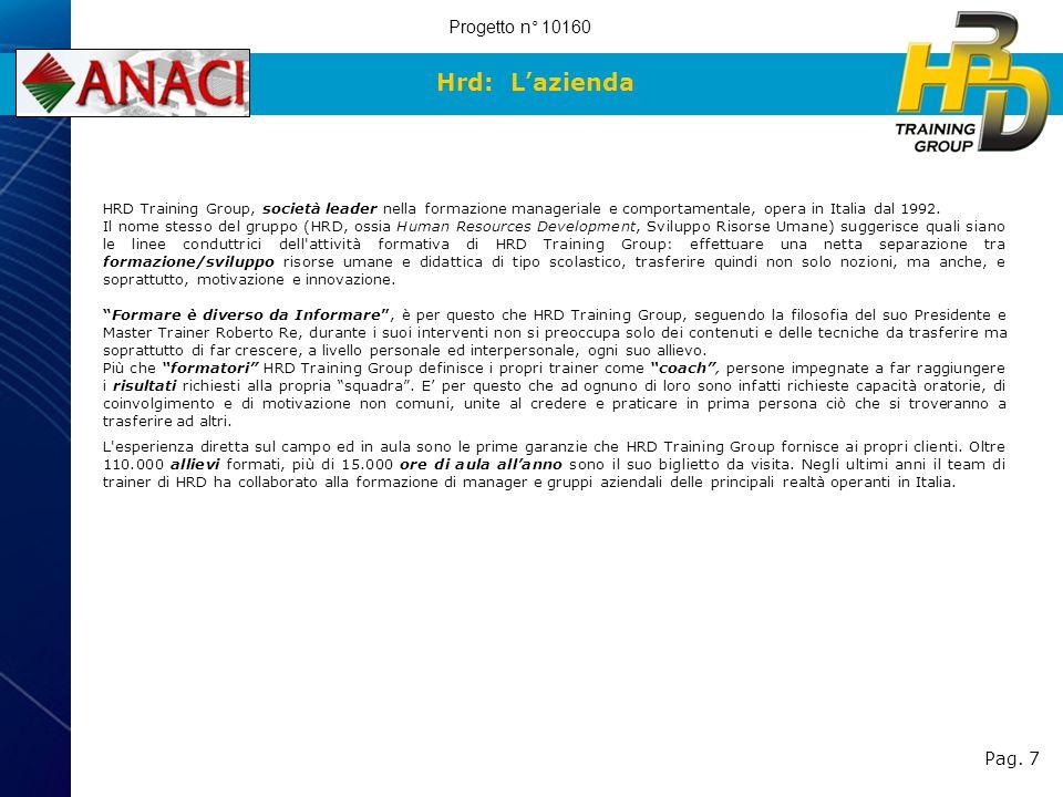 Hrd: L'azienda Progetto n° 10160 Pag. 7 7