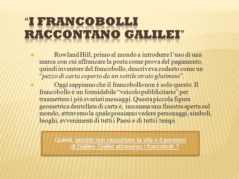 I FRANCOBOLLI RACCONTANO GALILEI