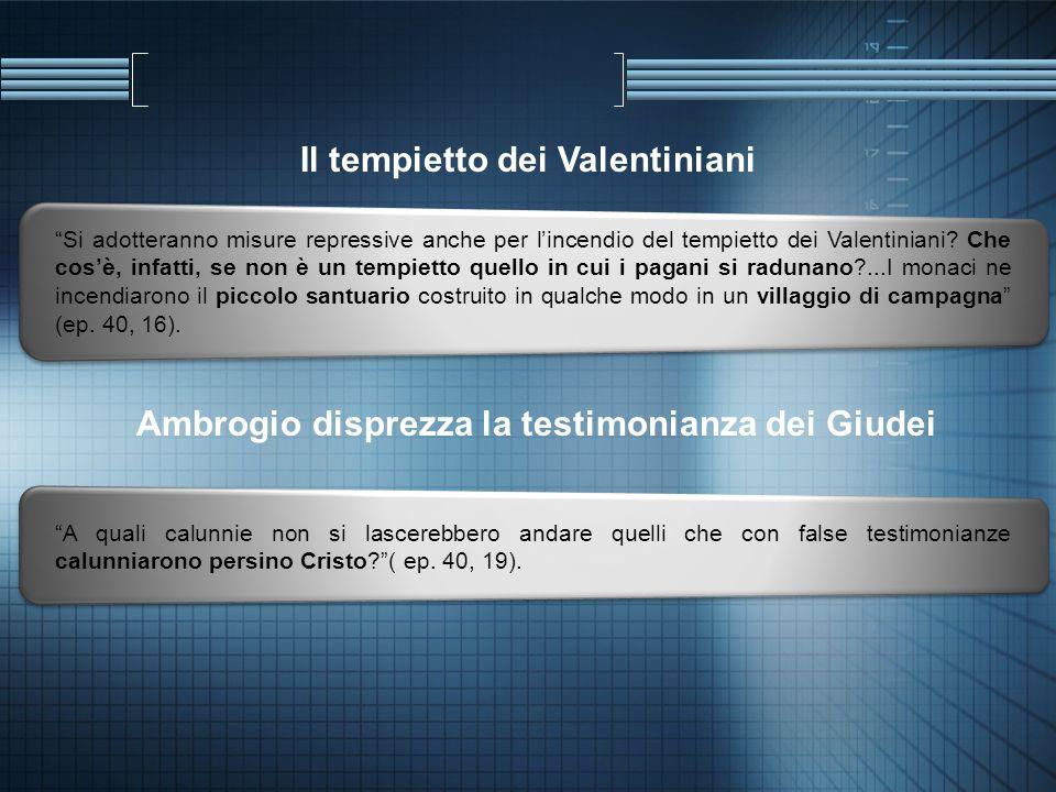Il tempietto dei Valentiniani