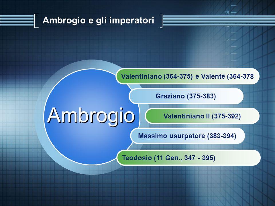 Ambrogio e gli imperatori